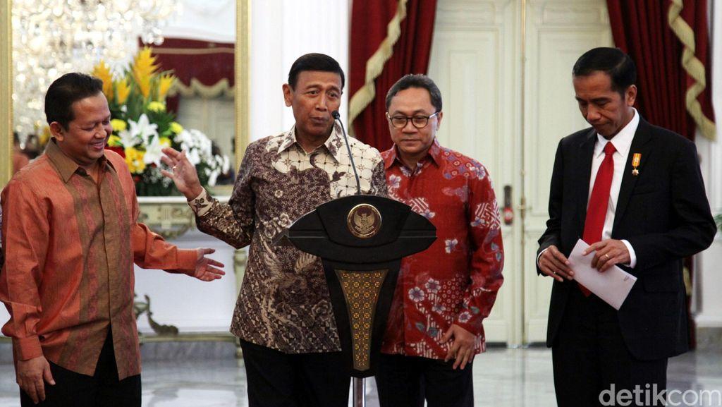 PAN Gabung KIH, Wiranto: Proses Lobi Cukup Lama