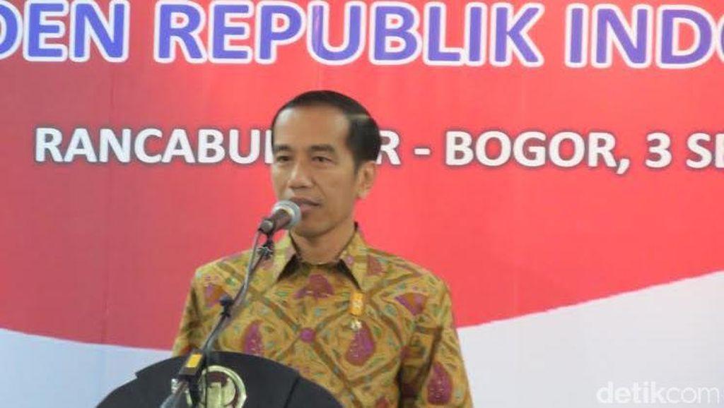 Resmikan Satelit LAPAN A2, Presiden Jokowi Dijanjikan Drone