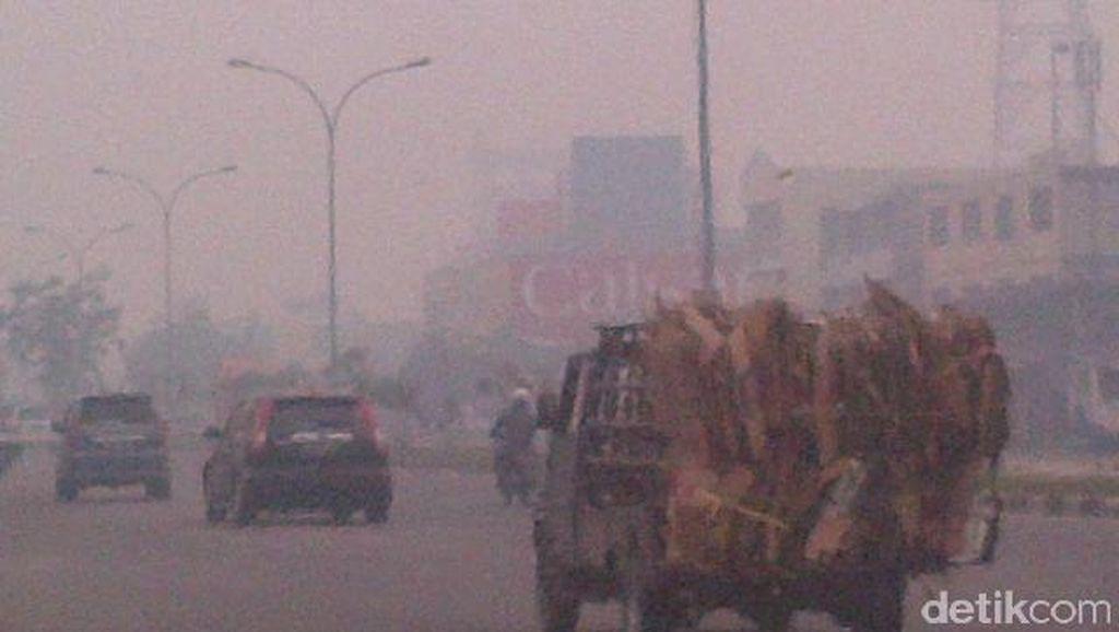 Soal Asap, DPRD Riau Minta Pemprov Berlakukan Status Tanggap Darurat