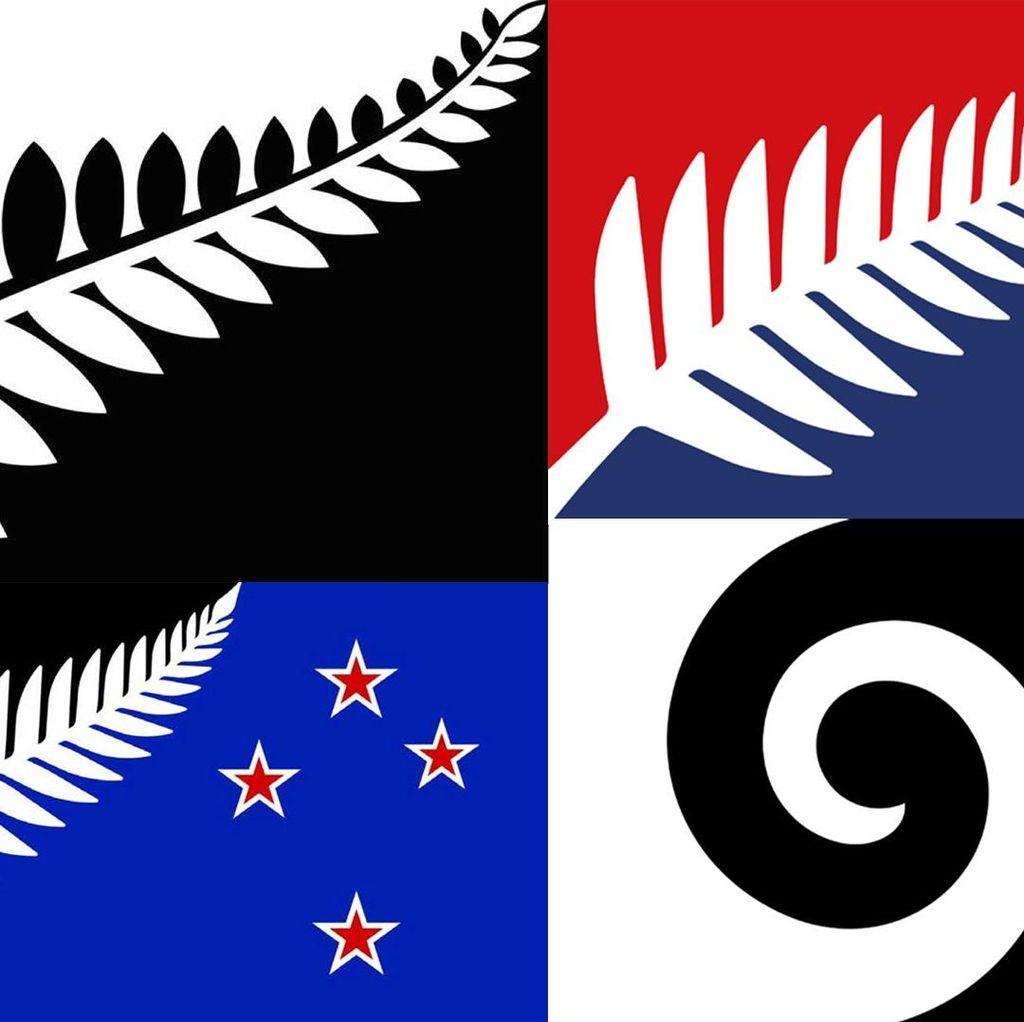 New Zealand akan Pilih Bendera Baru, ini 4 Calon Desainnya