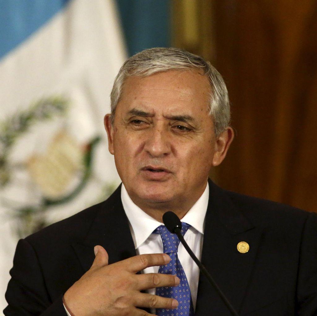 Presiden Guatemala Akan Ditangkap Terkait Skandal Gratifikasi