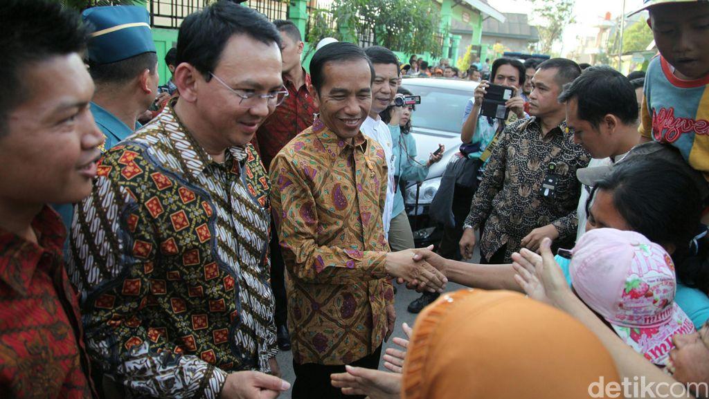 Reuni Seru Jokowi dan Ahok, Sapa Rakyat hingga Tukar Pikiran