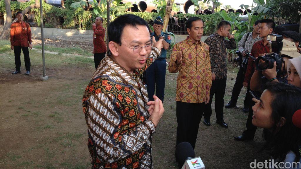 Reuni dengan Ahok, Jokowi Tersenyum: Ini Blusukan Gubernur dan Wagub!