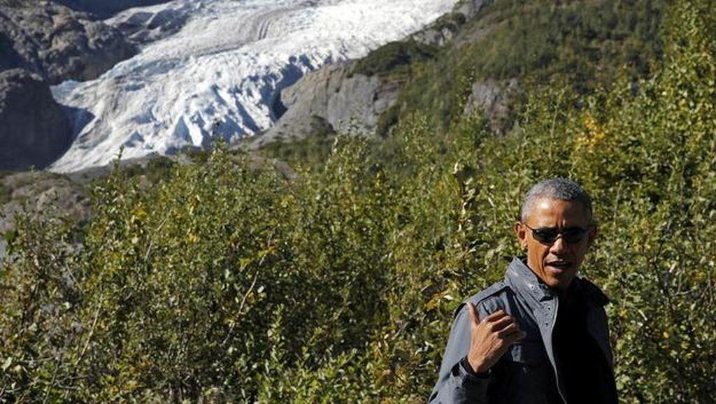 Tiba di Paris untuk Hadiri COP21, Obama Langsung Kunjungi Bataclan