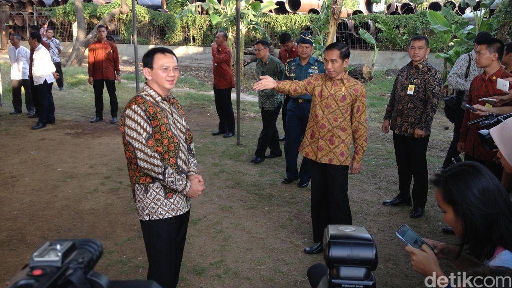 Jokowi-Ahok Blusukan di Cilincing, Warga Teriak-teriak Gembira