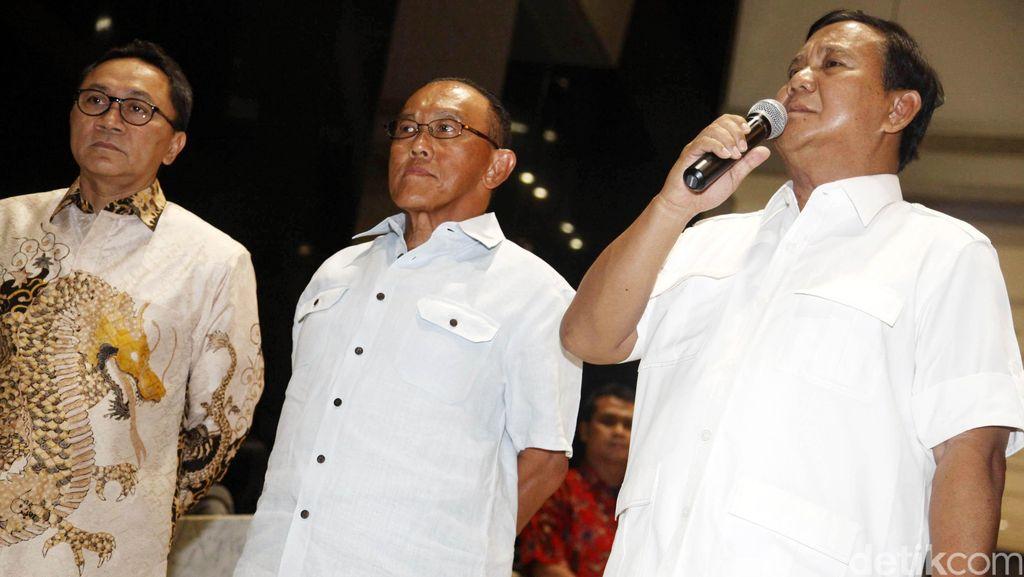 Prabowo Subianto: Kami Menghormati Keputusan Kawan-kawan di PAN