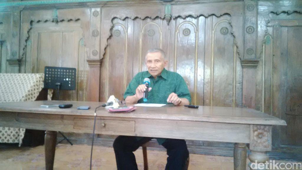 PAN Gabung Pemerintah, Ini yang Dikatakan Amien Rais ke Prabowo dan Ical
