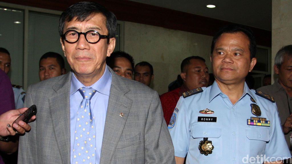 Menkum HAM Tentang UU Pengampunan Koruptor: Tujuannya Baik, Jangan Suudzon