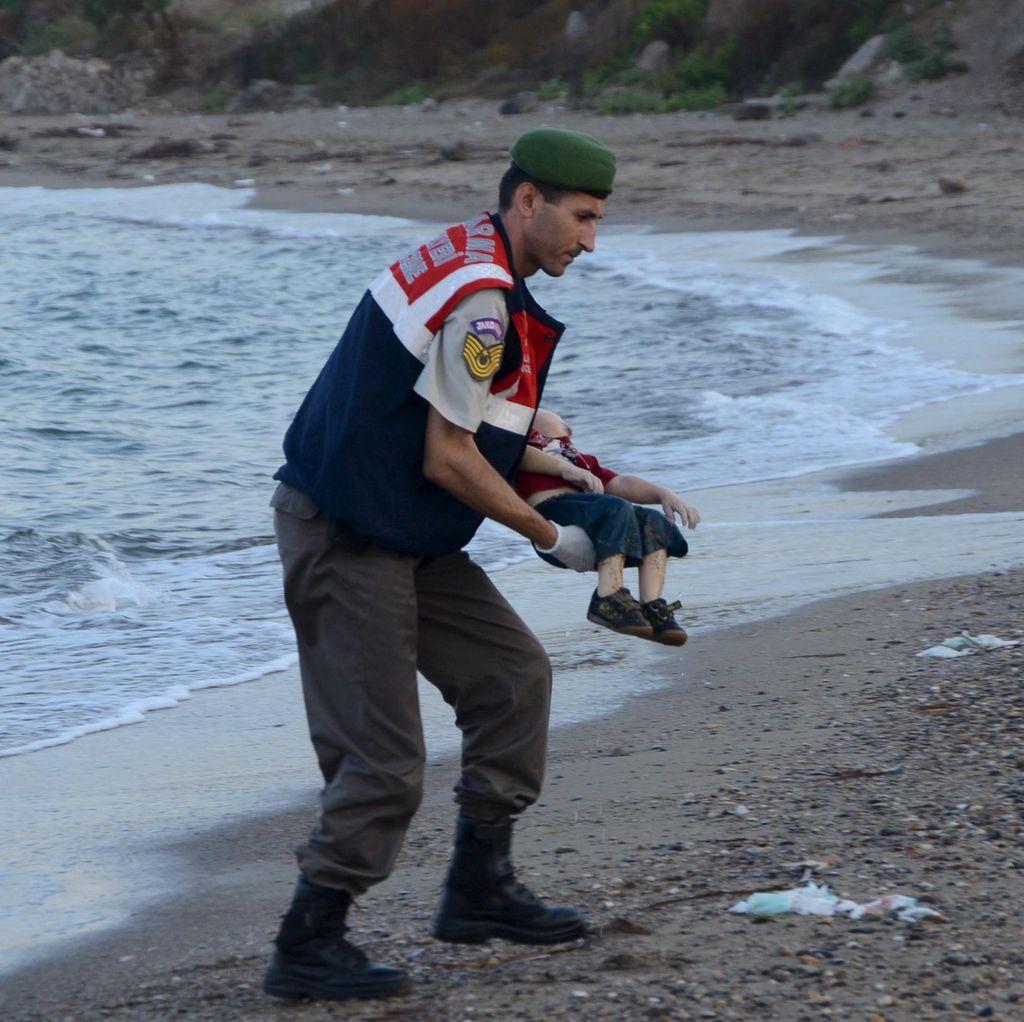 Bocah Imigran Tewas, Turki Tangkap 4 Tersangka Penyelundup Manusia