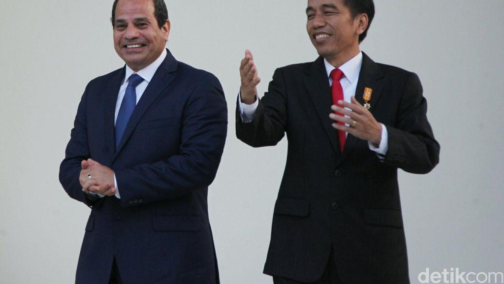Investasi RI di Mesir Capai US$ 260 Juta, Jokowi Ingin Investor Dipermudah