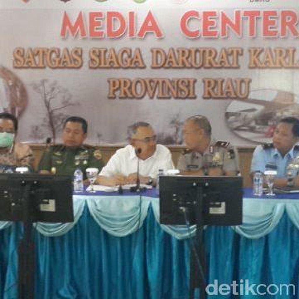 Asap Ganggu Sekolah dan Lumpuhkan Bandara, ini Respons Plt Gubernur Riau