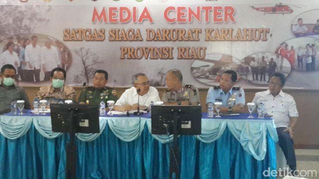 Plt Gubernur Riau: Asap Memang Cukup Parah, Sampai Pusing Menghirupnya