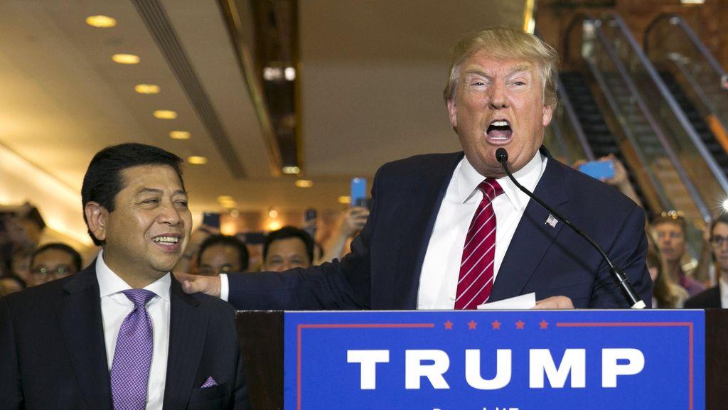 Kontroversi Capres AS Donald Trump dan Pertemuan dengan Novanto Cs