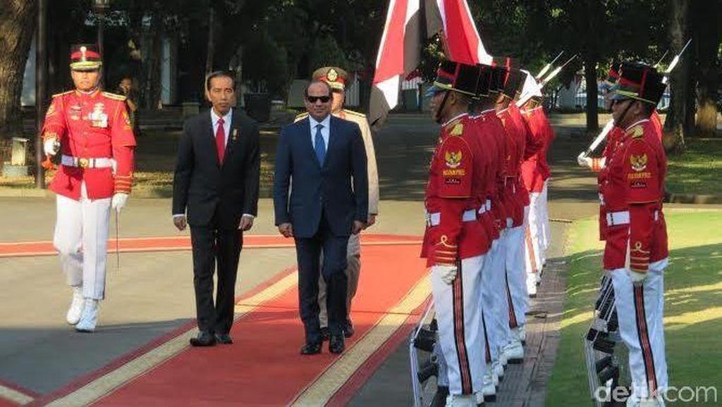 Presiden Jokowi: RI dan Mesir Tukar Pikiran Tentang Islam Rahmatan Lil Alamin