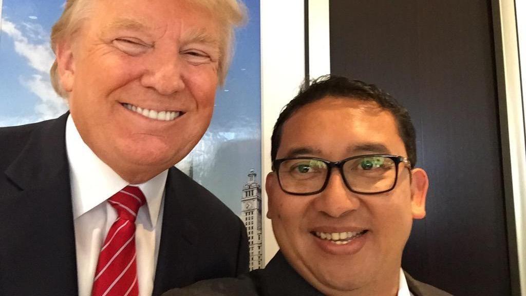 Ngobrol Bareng Trump, Novanto dan Fadli Bahas Investasi di Indonesia
