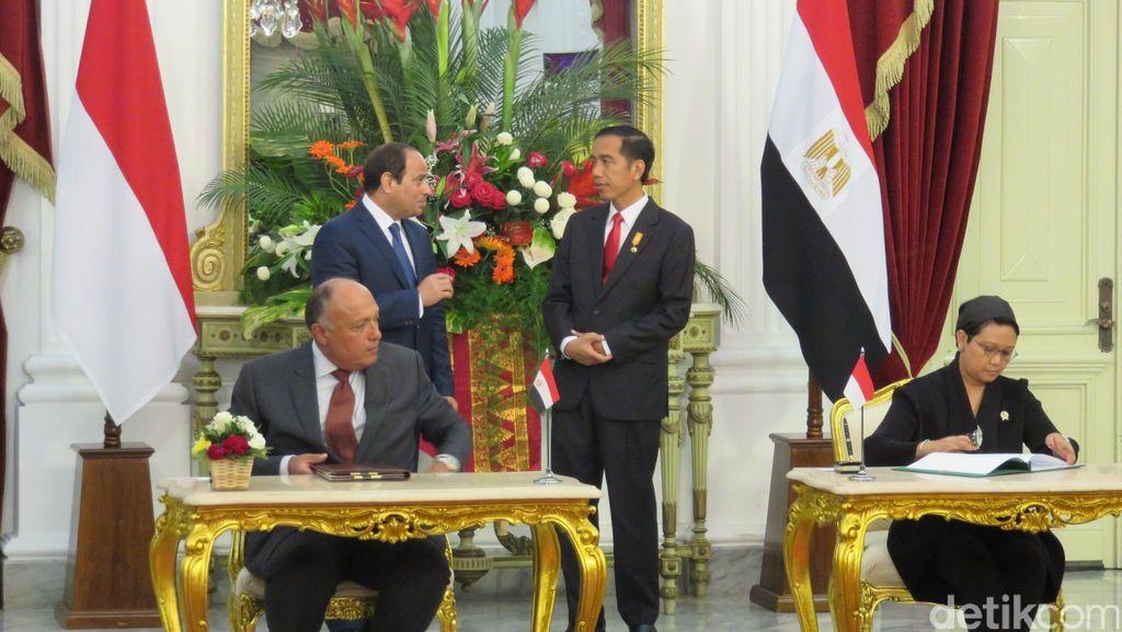Al-Sisi: Pemerintah Kami Jamin Keamanan Warga Indonesia di Mesir