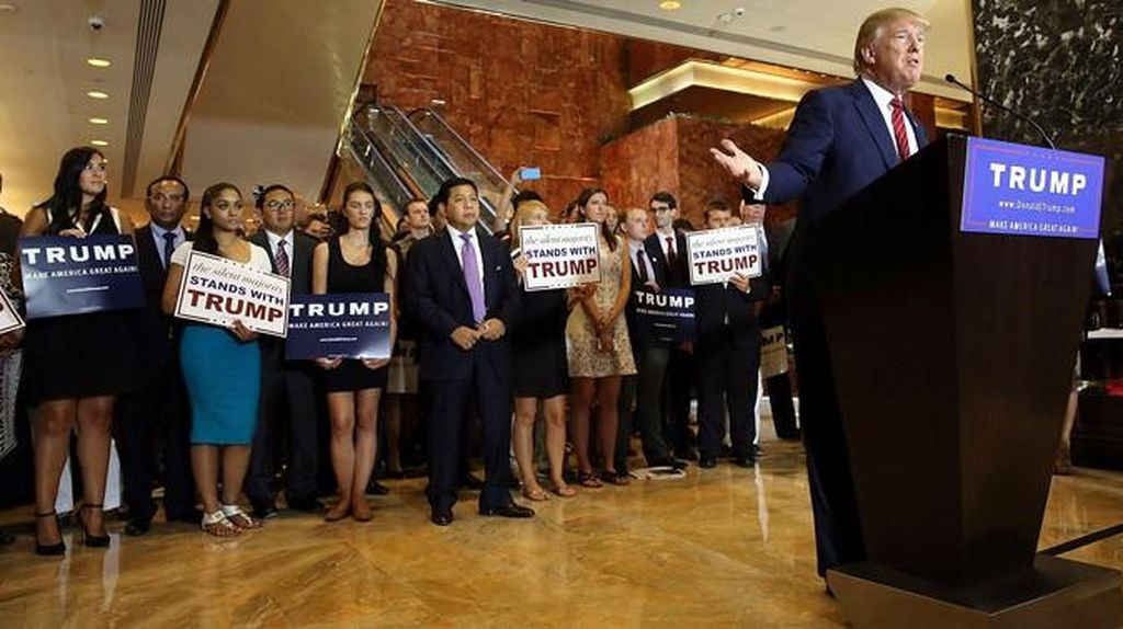 Serba-serbi Kemunculan Novanto dan Fadli di Acara Donald Trump