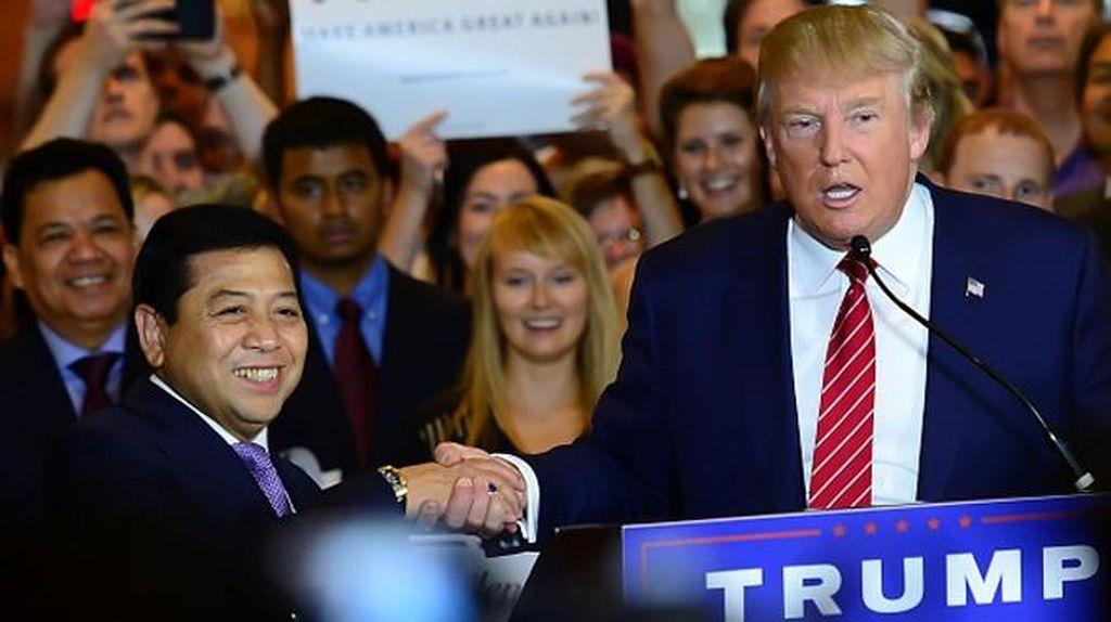 Setelah Pertemuan dengan Trump, Kini Arloji Novanto yang Diperbincangkan