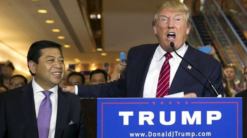 Kemesraan Novanto-Fadli dengan Donald Trump yang Berujung Teguran