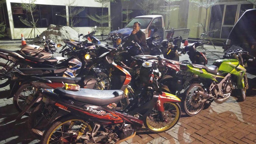 Ternyata Balap Liar Dijadikan Ajang Taruhan oleh Belasan Anak Muda di Tangerang ini