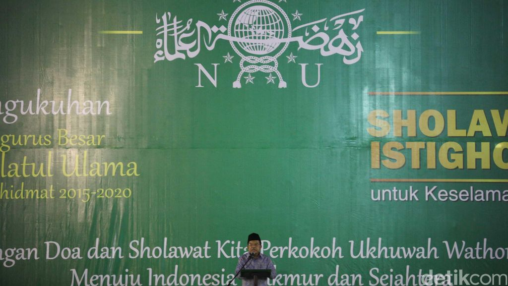 Tepis Jokowi, Ketua PBNU: Tidak Ada Menteri dari NU di Kabinet Kerja