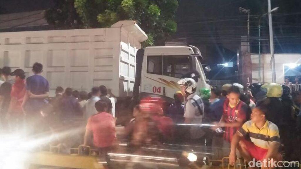 Pemotor yang Kecelakaan di Jalan Buncit Raya Meninggal Dunia