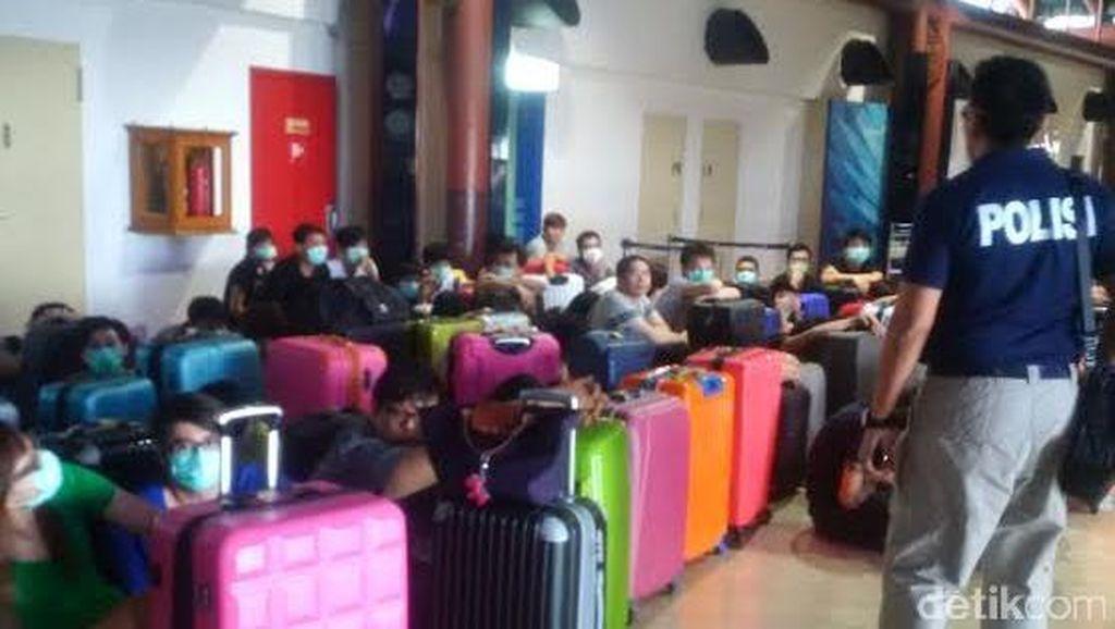 Polda Metro Kawal Pemulangan 64 WN Taiwan Pelaku Penipuan Cyber ke Negaranya
