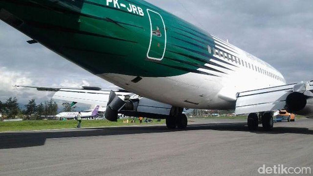 Pesawat Jayawijaya Dirgantara Alami Kerusakan Mesin di Wamena