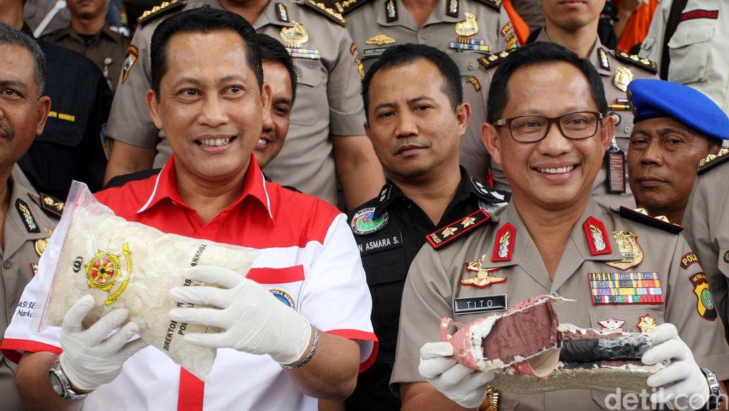 Target Rehabilitasi Pengguna Narkoba Gagal, Buwas Bilang Siap Salah ke Jokowi