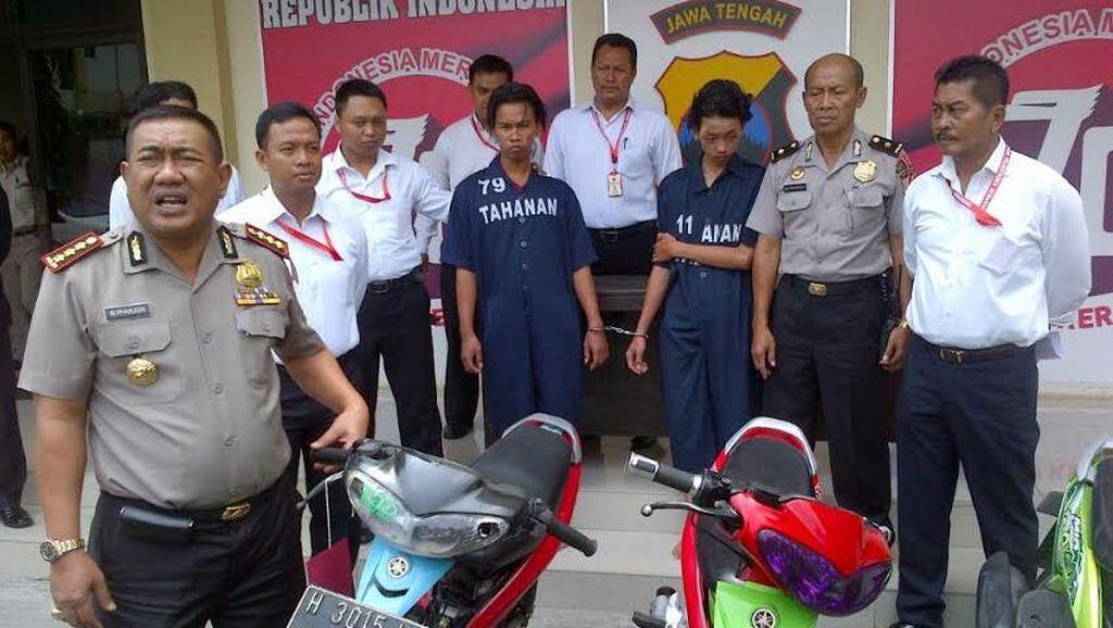 Sadis, Gerombolan Pemuda Mabuk di Semarang Rampas Motor dan Bacoki Korbannya