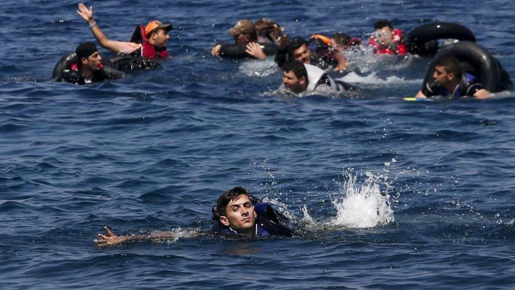 Perahu Angkut Migran Asal Iran Terbalik Saat Hendak Menuju Inggris