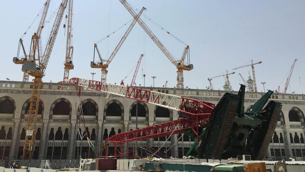 JK Berterima Kasih Atas Santunan Korban Crane Rp 3,8 M dari Raja Arab Saudi