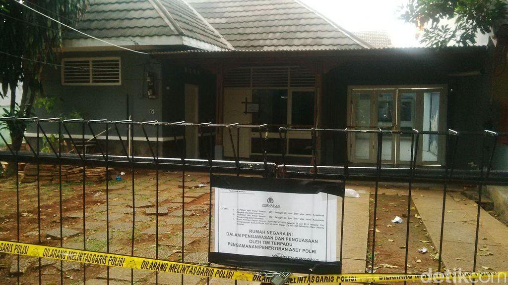 Polri Persilakan Penghuni Rumah Dinas yang Dikosongkan di Jl Wijaya Tempuh Jalur Hukum