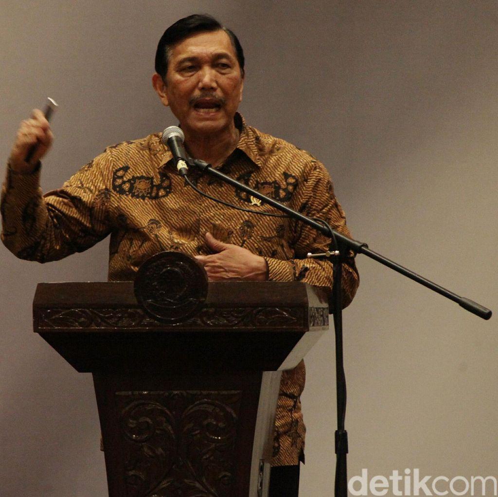 Sesalkan Bentrokan di Aceh Singkil, Menko Luhut: Kita Ini NKRI!