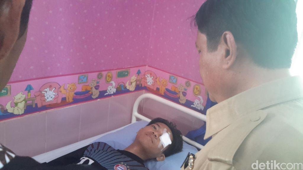 Guru yang Dipukul Siswa Bolos Terluka Parah di Mata, ini Pengakuannya