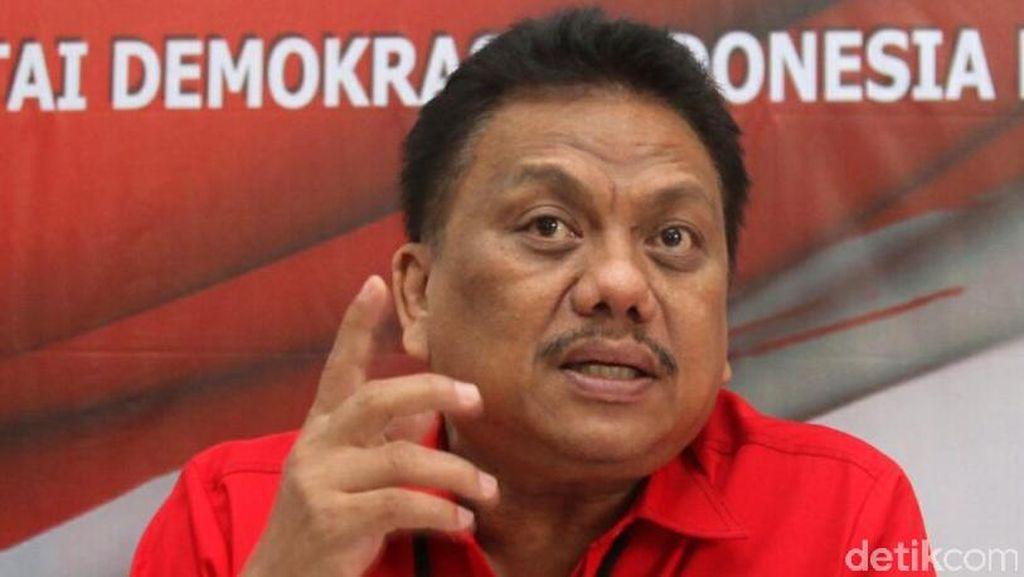 Jadi Cagub Sulut, Ketua F-PDIP Olly Dondokambey Mundur dari DPR