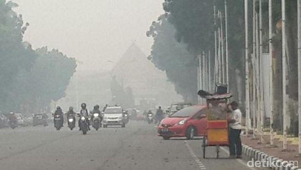 Akibat Kabut Asap, Penderita ISPA di Riau Meningkat 5%