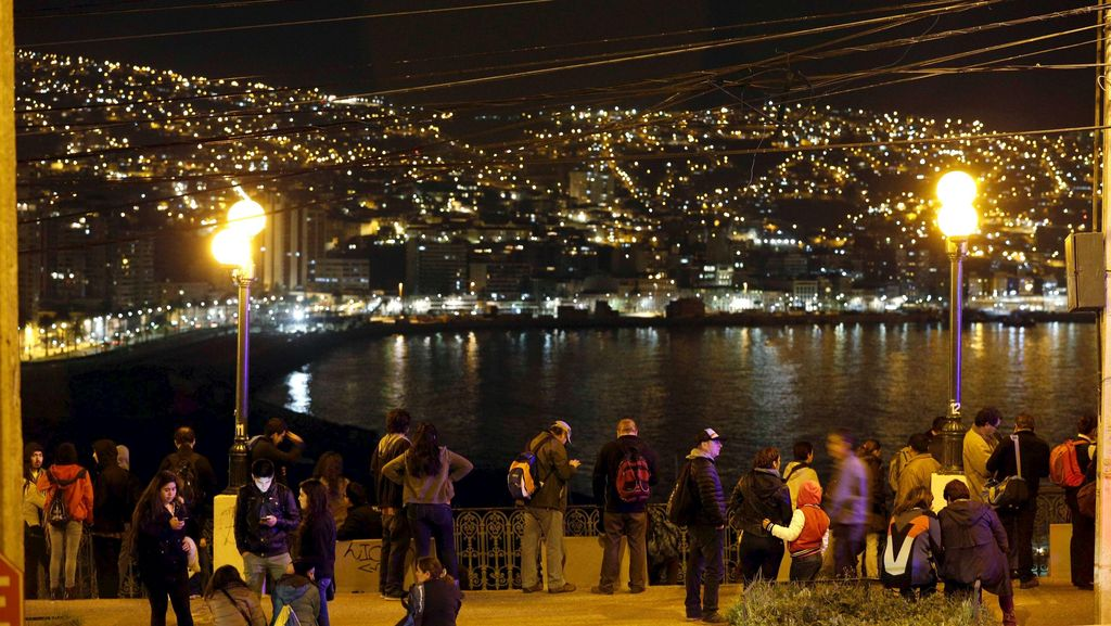 5 Orang Tewas, 1 Juta Warga Chile Dievakuasi Akibat Gempa 8,3 SR