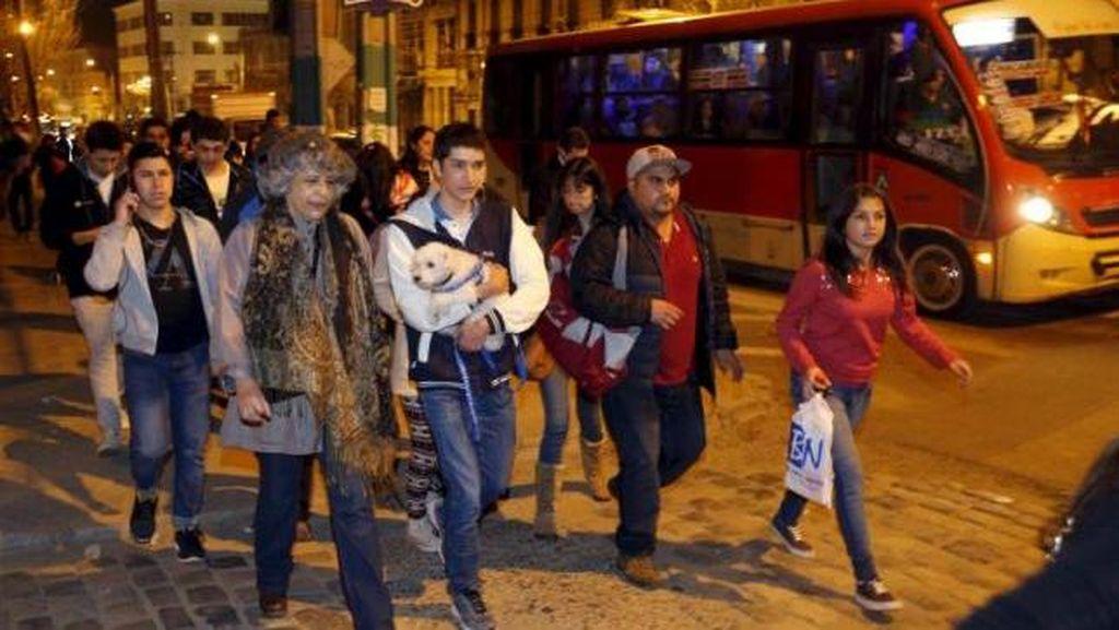 Gempa 8,3 SR di Chile Juga Terasa Hingga ke Argentina