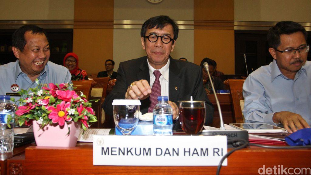 Menkum HAM Pilih Tak Komentar Dulu Soal Revisi UU KPK: Nanti Jadi Heboh