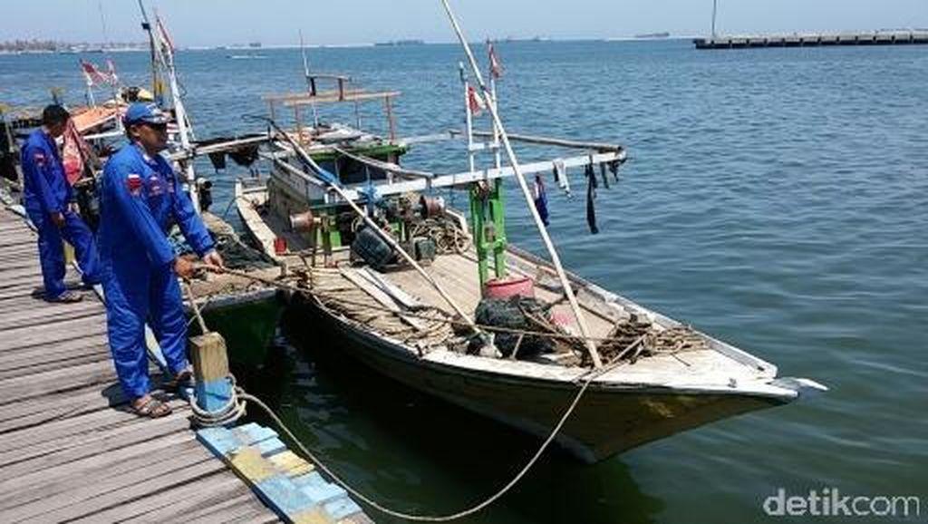 Polda Sulsel Tangkap 5 Kapal Pelaku Illegal Fishing di Selat Makassar