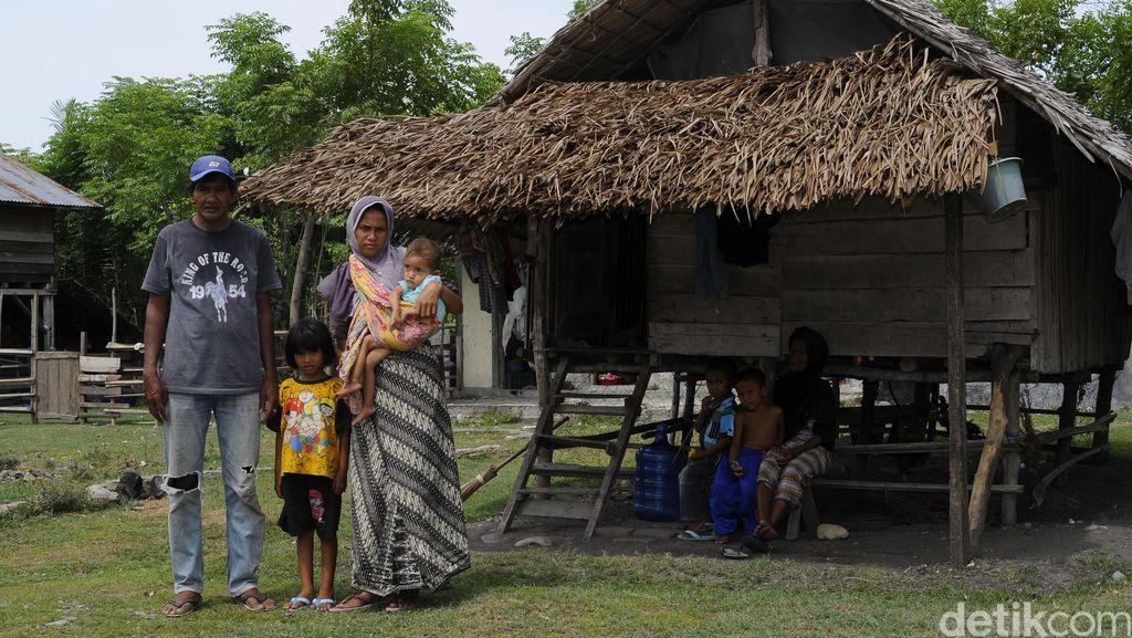 Nestapa Keluarga Miskin di Aceh Besar yang Anak Balitanya Sakit Paru-paru