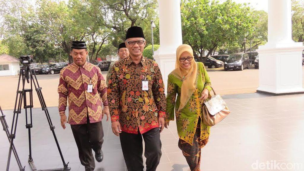 Jajaran Pengurus PP Muhammadiyah Temui Presiden Jokowi di Istana