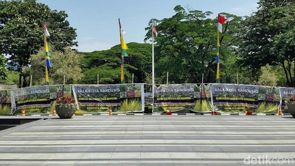 Perbanyak RTH, Balai Kota Bandung Direnovasi