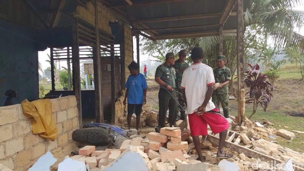 Gempa Sorong: 44 Orang Luka dan 257 Rumah Rusak, Tak Ada Korban Jiwa