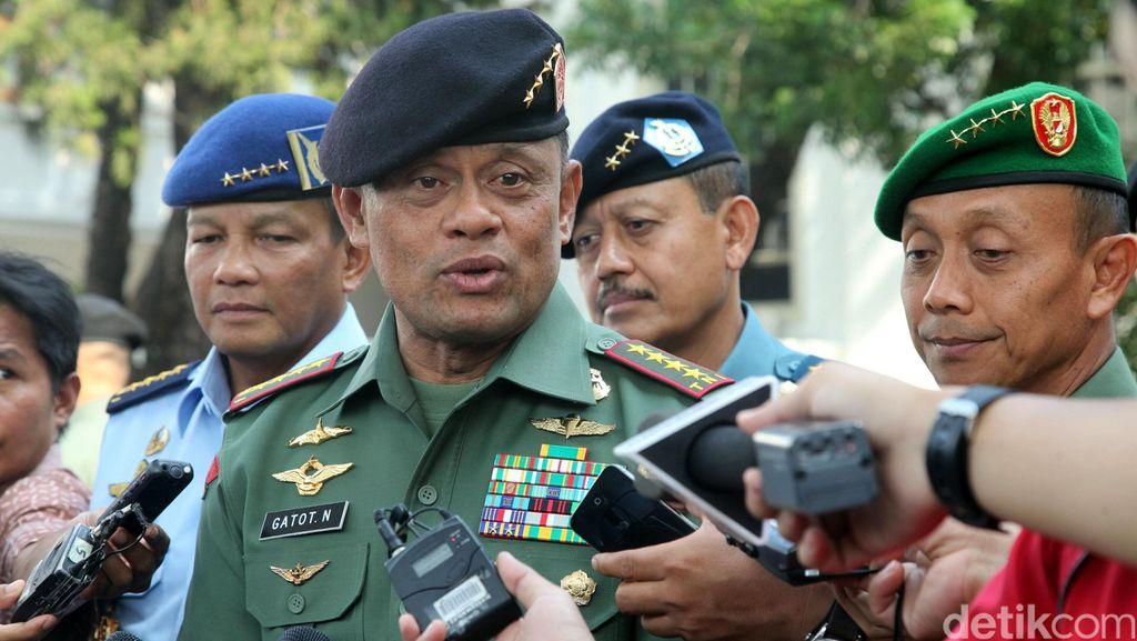 Panglima TNI Naikkan Pangkat Perwira yang Tewas Ditembak di Papua