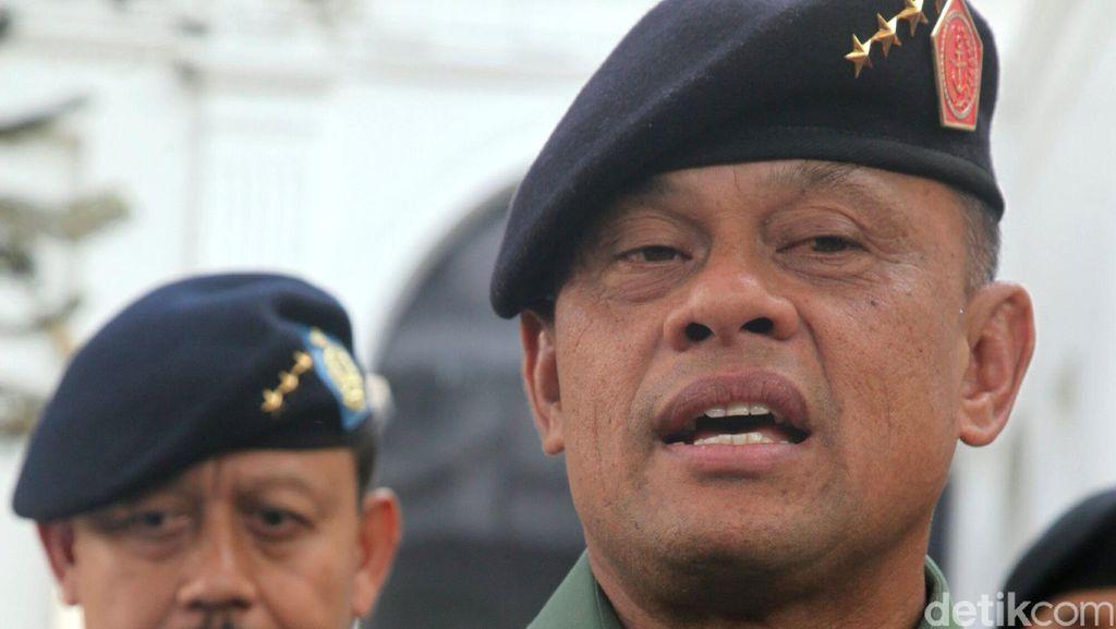 Bahas Soal Teroris, Panglima TNI Dijadwalkan Bertemu Wakapolri Siang Ini