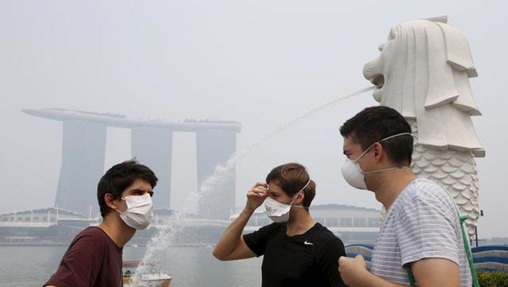 Singapura Serukan ASEAN Ambil Tindakan Tegas Atasi Kabut Asap
