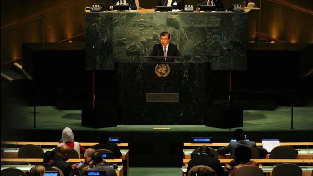 Pidato di Sidang PBB, Wapres JK Pamerkan KIS dan KIP