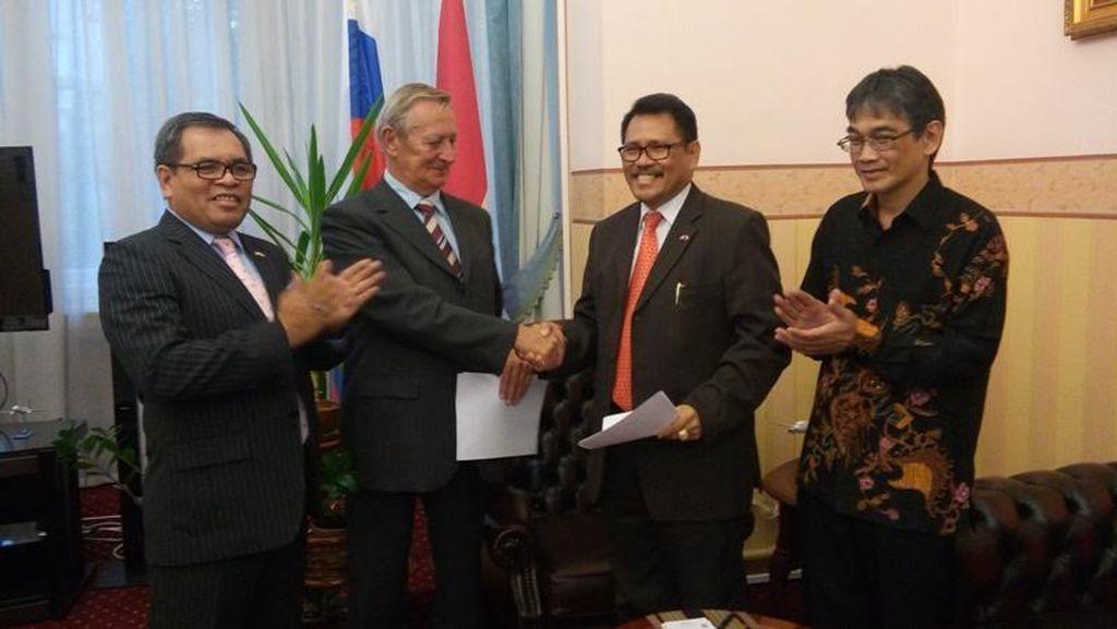Indonesia - Rusia Sepakat Kerjasama di Bidang Karya Cipta Lagu